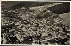 Postcard Olbernhau im Erzgebirge Sachsen, Totale, Fliegeraufnahme