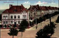Ak Naumburg an der Saale, Kaserne des 2. Thür. Feld Art. Regts. Nr. 55