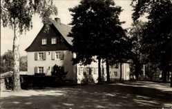 Postcard Bad Elster im Vogtland, Partie am Heim Völkerfreundschaft