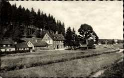 Postcard Morgenröthe Rautenkranz Muldenhammer, Ferienheim VEB Buchungsmaschinenwerk