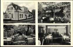 Ak Gröbzig Südliches Anhalt, Gasthof zum Adler, Karl Ruhmer, Innenansicht