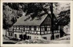 Postcard Ansprung Marienberg im Erzgebirge Sachsen, Hüttstadtmühle