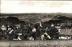 Postcard Pockau Lengefeld im Erzgebirge, Blick auf den Ort und die Umgebung
