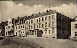 Postcard Pockau Lengefeld im Erzgebirge, Ferienheim der Kaliwerke Bernburg