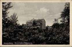 Ak Blankenburg am Harz, Blick auf das Klara Zetkin Ferienheim