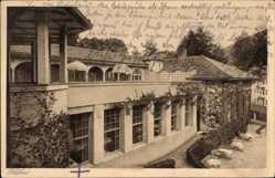 Postcard Bad Wildbad im Kreis Calw, Blick auf Kurhaus mit Terrasse