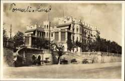 Postcard Dschibuti, General view of the Governors Palace