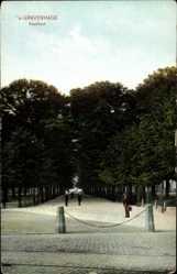 Postcard 's Gravenhage Den Haag Südholland, Voorhout, Park