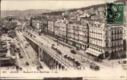 Ak Algier Alger Algerien, Boulevard de la République