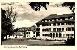Postcard Bad Aibling im Kreis Rosenheim Oberbayern, Versorgungskuranstalt