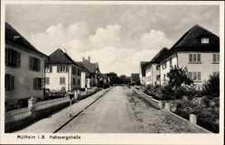 Postcard Müllheim im Kreis Breisgau Hochschwarzwald, Blick in die Habspergstraße