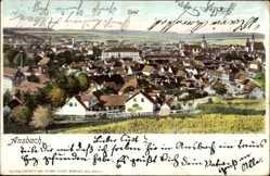Ak Ansbach in Mittelfranken Bayern, Gesamtansicht der Stadt
