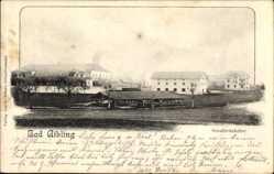 Postcard Bad Aibling im Kreis Rosenheim Oberbayern, Der Schuhbräukeller