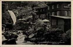 Postcard Szklarska Poręba Schreiberhau Riesengebirge Schlesien, Kochelfallbaude