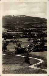 Postcard Kowary Hohenwiese Schlesien, Ortschaft, Landschaft, Schmiedeberg