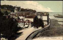 Ak Saint Jean de Luz Pyrénées Atlantiques, Ciboure, vue generale