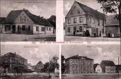 Ak Dornstedt Teutschenthal im Saalekreis, H. Dietrich, Fritschen, Marx, Baehran