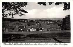 Postcard Clausthal Zellerfeld im Oberharz, Blick von der Bremerhöhe auf den Brocken
