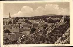 Postcard Elbingerode Oberharz am Brocken, Brockenblick, Ortsansicht
