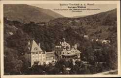 Postcard Traben Trarbach Rheinland Pfalz, Kurhaus Wildbad, Erholungsheim