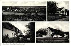 Postcard Barntrup Lippe Nordrhein Westfalen, Landhaus Rosenhof