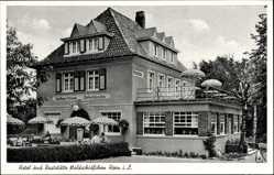 Postcard Horn Bad Meinberg im Kreis Lippe, Hotel und Raststätte Waldschlösschen