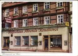 Postcard Wernigerode am Harz, Kaffeehaus Ahrends Konditorei