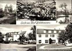 Postcard Bad Holzhausen Preußisch Oldendorf, Pension Stark Haus Annelie