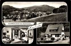 Postcard Schweighof Badenweiler Hochschwarzwald, Haus Hermann Lacher