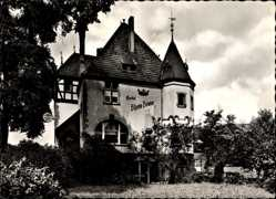 Postcard Boppard im Rhein Hunsrück Kreis, Hotel Rheinkrone, E. Werning