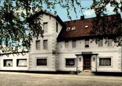 Postcard Wolfshagen Langelsheim am Harz, Hotel Burghagen, Willi Soppert