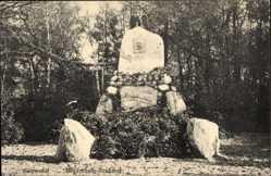Ak Salzwedel in der Altmark, Blick auf das Hindenburg Denkmal