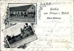 Ak Kleinkühnau Roßlau Dessau in Sachsen Anhalt, Gasthof zum Prinzen v. Anhalt