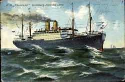 Ak Dampfschiff Cincinnati, HAPAG, Fahrt auf hoher See