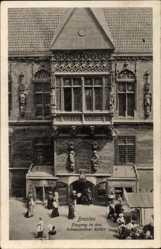 Postcard Wrocław Breslau Schlesien, Eingang in den Schweidnitzer Keller