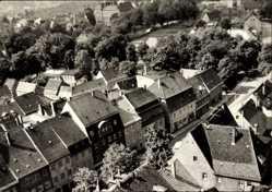 Ak Oschatz in Nordsachsen, Blick auf die Leninstraße