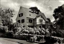 Ak Hohnstädt Grimma in Sachsen, Blick auf das Waldhaus, Göschenhaus