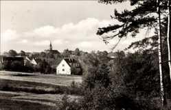 Ak Schmannewitz Dahlen im Kreis Nordsachsen, Ansicht des Ortes