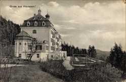 Postcard Schaufling in Niederbayern, Sanatorium am Hausstein