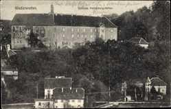 Postcard Niederstetten Main Tauber Kreis, Schloss Haltenbergstetten