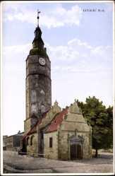Postcard Luckau im Kreis Dahme Spreewald, Der Hausmannsturm