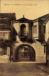 Postcard Kamenz im Kreis Bautzen, Klostertor aus dem Jahre 1516