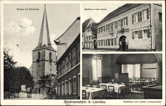 Ansichtskarte / Postkarte Godramstein Landau in der Pfalz