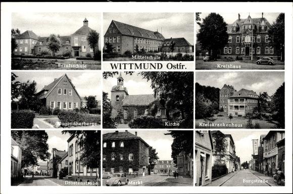 Ansichtskarte postkarte wittmund in niedersachsen for Juist unterkunft gunstig