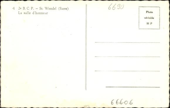 ansichtskarte postkarte st wendel in saarland la salle. Black Bedroom Furniture Sets. Home Design Ideas