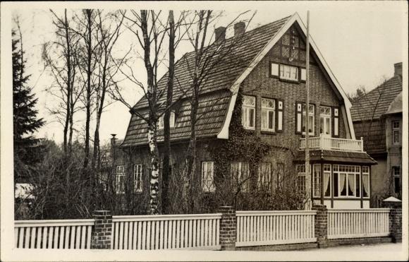 foto ansichtskarte postkarte hamburg altona rissen wohnhaus von au en gesehen. Black Bedroom Furniture Sets. Home Design Ideas