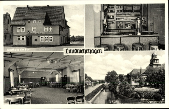 postcard landwehrhagen staufenberg an der weser. Black Bedroom Furniture Sets. Home Design Ideas
