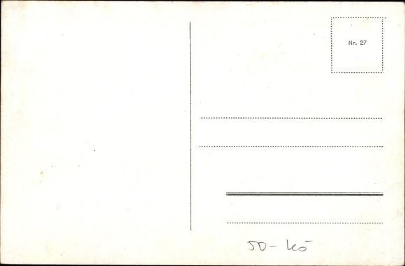 postcard k ln am rhein nachtaufnahme der hohestra e. Black Bedroom Furniture Sets. Home Design Ideas