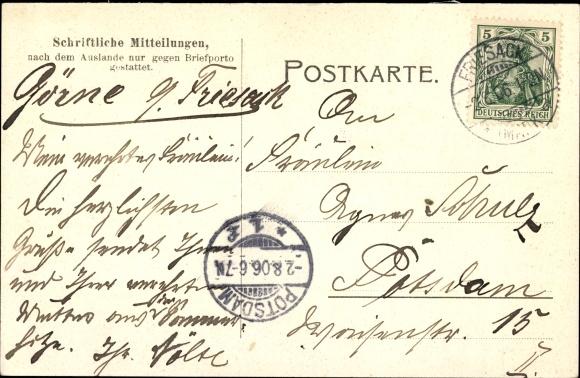 Ansichtskarte Postkarte Kleßen Görne Im Havelland Akpoolde