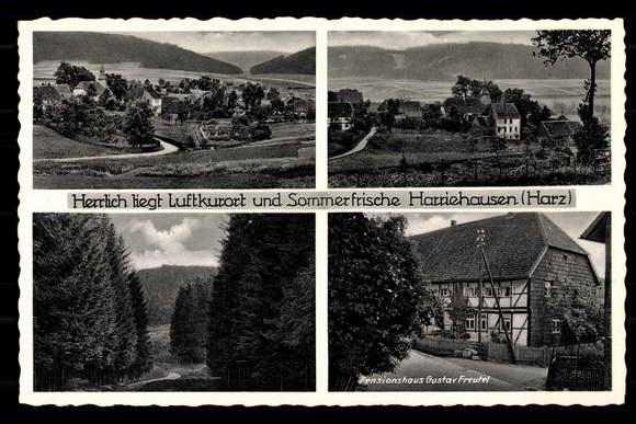 ansichtskarte postkarte harriehausen bad gandersheim. Black Bedroom Furniture Sets. Home Design Ideas